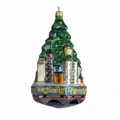 Chicago Christmas Tree Ornament - Green {Mys972}-0