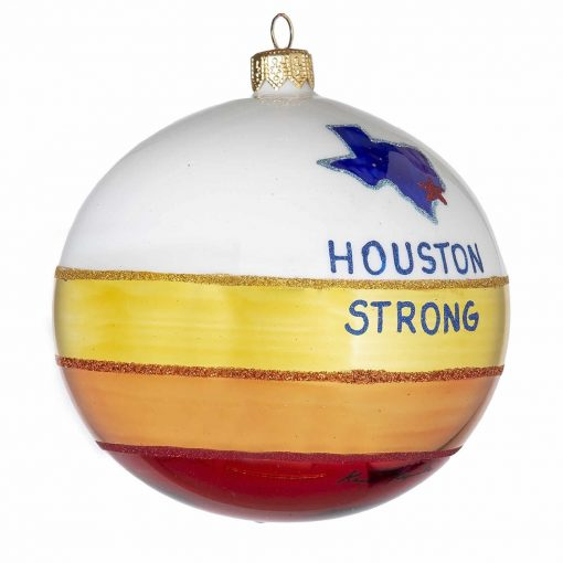 Houston Strong Christmas Ornament - Mys976-0