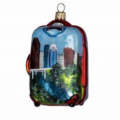 Houston Suitcase Ornament-0