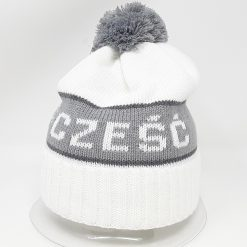 White Czesc Hat-0