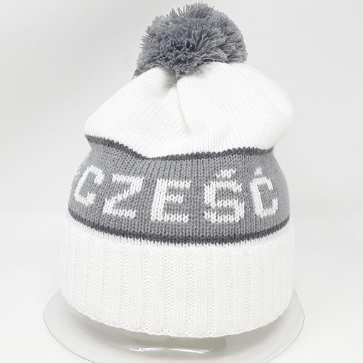 White Czesc Hat-0