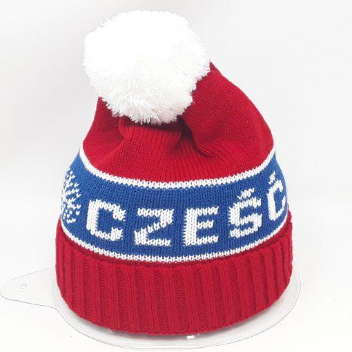 Red Czesc Hat -0