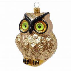 Owl Christmas Ornament-0