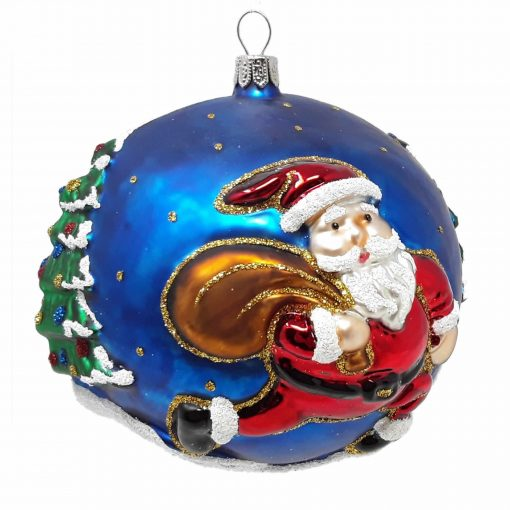 Santa Christmas Ornament-0