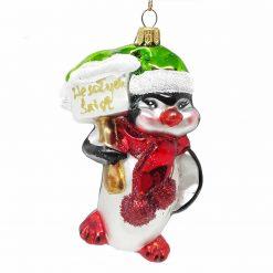 Penguin Christmas Ornament -0