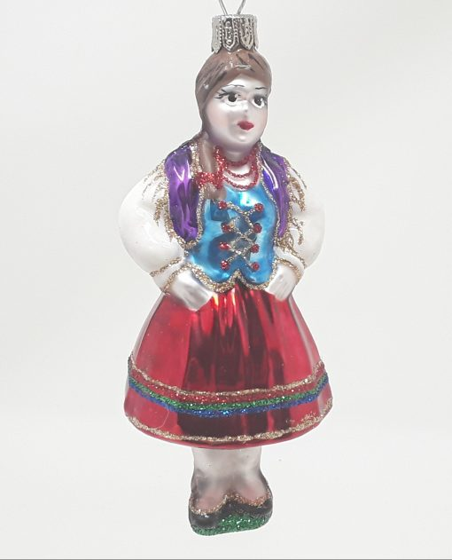 Goralka/Highlander Glass Ornament-0