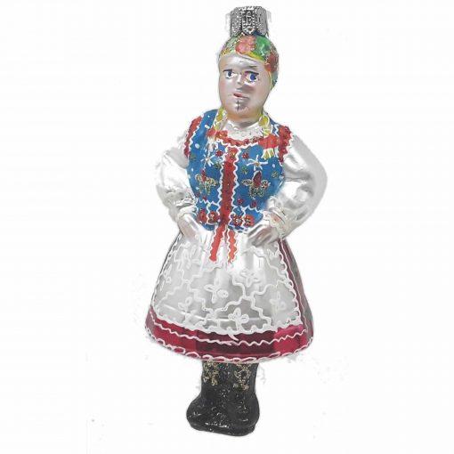 Krakowianka Glass Ornament-0