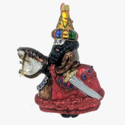 Lajkonik Glass Christmas Ornament-0