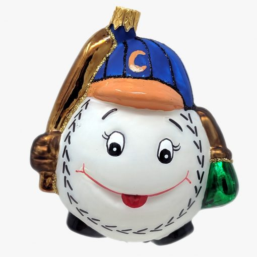 Chicago Northside Baseball Ornament-0