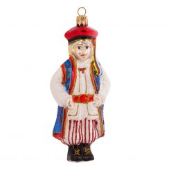 "Polish ""Krakowiak"" Boy From Krakow Christmas Ornament - 4"" (10cm) -0"