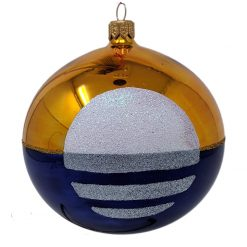 The People's Flag of Milwaukee Glass Christmas Ornament-0