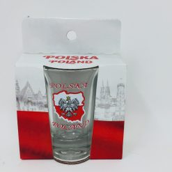 "Polish Shot Glass - Polska - Poland ""mapa"" - 3.4cl-0"