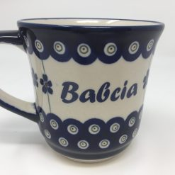 BABCIA Polish Pottery Mug - Boleslawiec Coffee & Tea Mug - 400 mL - 13.5 oz-0