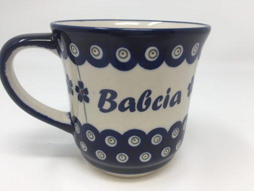 BABCIA Polish Pottery Mug - Boleslawiec Coffee & Tea Mug - 400 mL - 13.5 oz-0