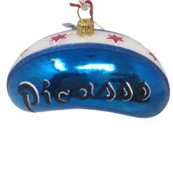 Chicago PICASSO Glass Christmas Ornament (MYS1009)-0