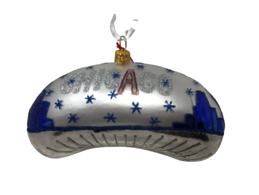"Chicago Bean – Blue with blue stars 5"" (MYS997)-0"