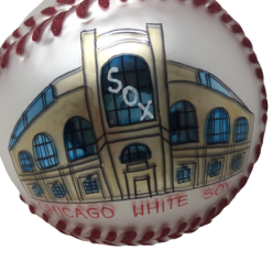 Chicago Baseball WHITESOX Ornament MYS1010-0