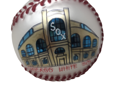 Chicago Baseball WHITESOX Ornament MYS1010-0