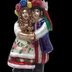 Krakowiak and Krakowianka Couple - Ornament (SEW164)-0