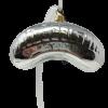 """Chicago Bean –Silver Chicago 4.0"""" (SEW1331)-5228"""