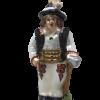 """Polish Highlander Boy """"Goral"""" Glass Christmas Ornament 5"""" (SEW162)-0"""