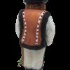 """Polish Highlander Boy """"Goral"""" Glass Christmas Ornament 5"""" (SEW162)-5221"""