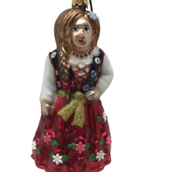 "Polish Highlander Girl ""Goralka"" 5"" (10cm) - SEW163-0"