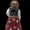 "Polish Highlander Girl ""Goralka"" 5"" (10cm) - SEW163-5223"