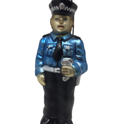 "CHICAGO Policeman Ornament 5"" (SEW166)-0"