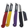 "4 kitchen knifes,2 3/8"" blade,Made in Germany ( mix colors )-0"