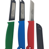 "3 kitchen knifes,3 1/4"" blade,Made in Germany ( mix colors )-0"