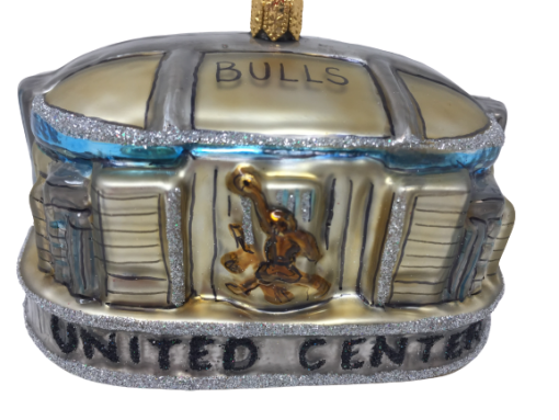 Chicago UNITED CENTER Ornaments MYS1015-0