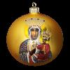 """Christmas Ornament """"Lady of Czestochowa""""100mm (KOM2004)-0"""