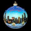 Chicago View Ornament ,10cm,KOM2016-0