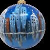 "Christmas Ornament ""Chicago ART"" 120mm (OLS209)-5298"