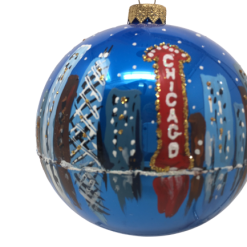 "Christmas Ornament ""Chicago ART"" 120mm (OLS209)-0"