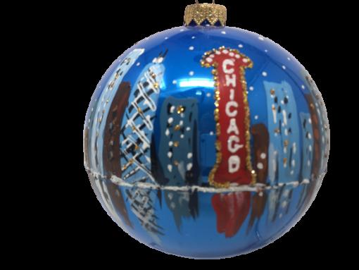 "Christmas Ornament ""Chicago ART"" 120mm (OLS209)-0"