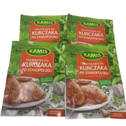 Seasoning,KURCZAKA ,KAMIS - 4 pack, przyprawa --Free SHIPPING, Product from Poland-0