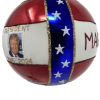 Donald Trump Christmas Ornament, Red, White, and Blue {Mys973M} MAGA-5454