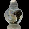 """Znicz Glass -Cemetery Candle -""""Kochamy Pamietamy"""" , 15"""" .Product from Poland-0"""